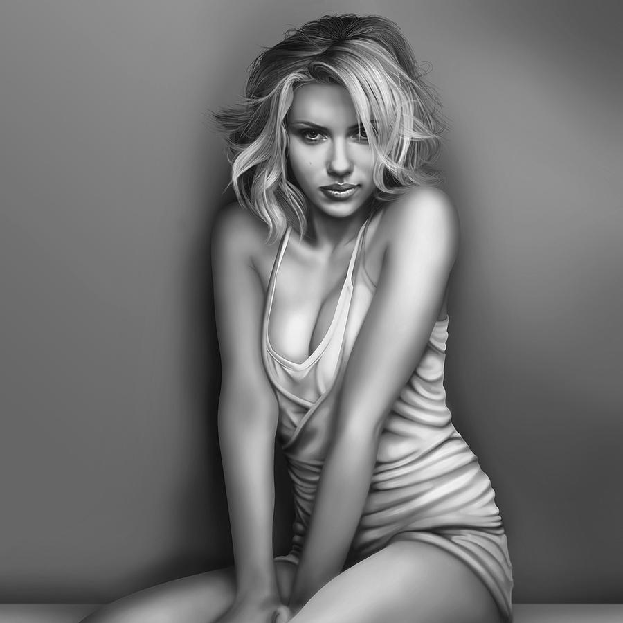 Scarlett Johansson by Todaviia