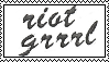 Riot Grrrl Stamp by The-Thin-Ice