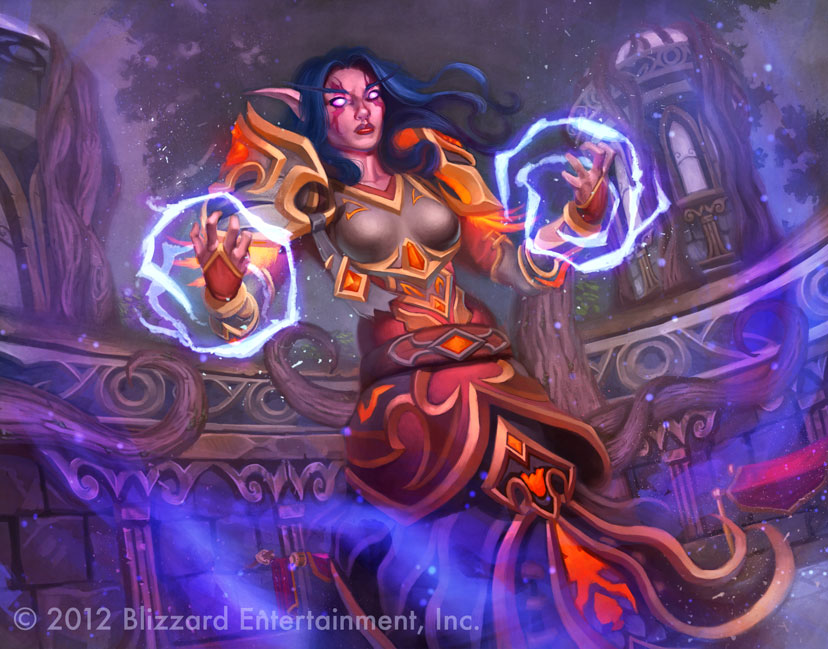 Eldre'Thalas Sorceress by DanMasso