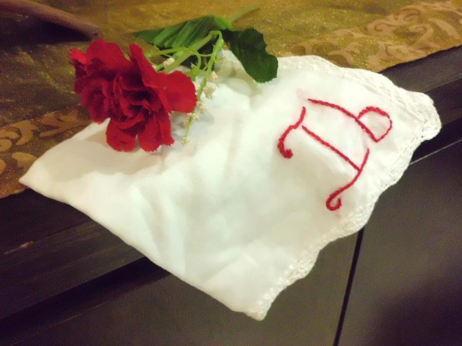 Ib handkerchief by AmityChan