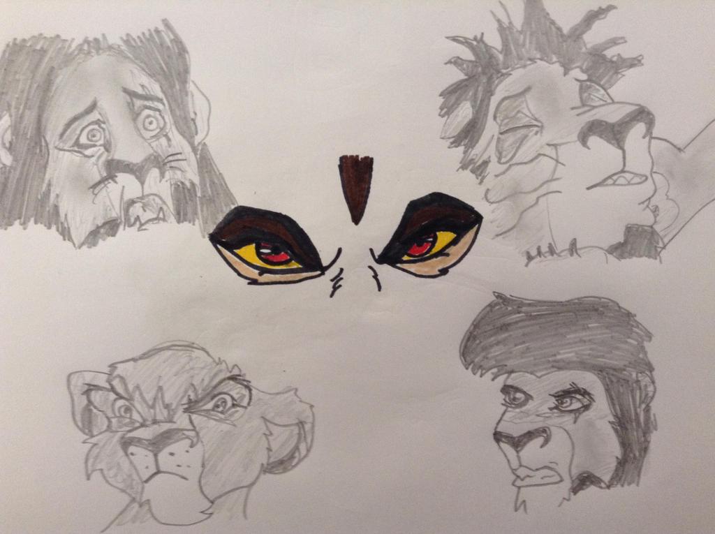 Lion King 2 ~ Zira's Hate by EveryoneCanShine on DeviantArt