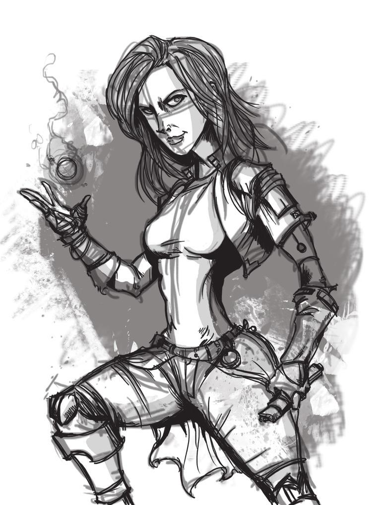 Satkia-sketch by SteveDave81