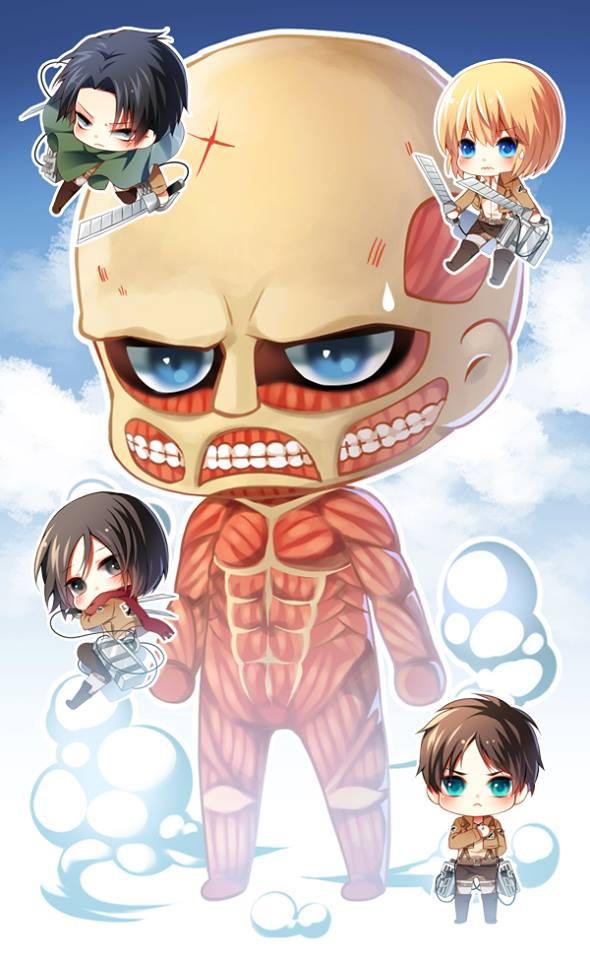 Attack On Titan Chibi Special