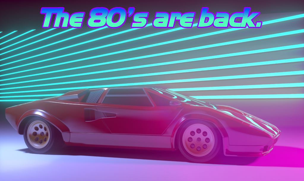 Lamborghini Countach From The 80 S By Inkthor On Deviantart