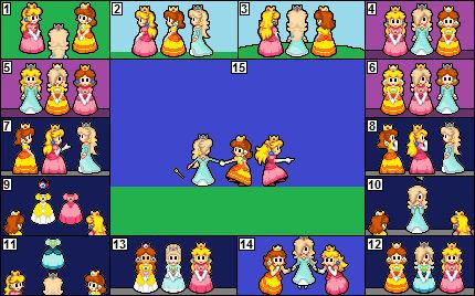 Peach Dress Up Games