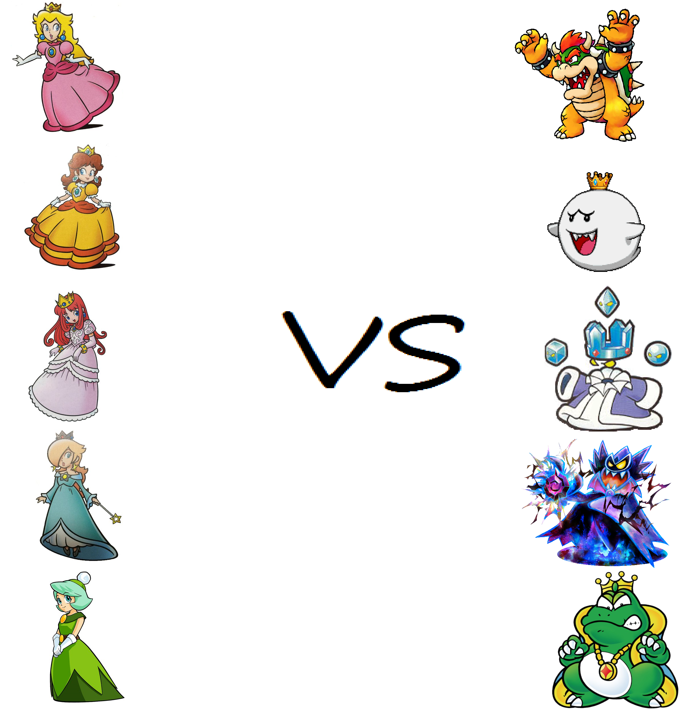 Pure princess vs evil kings requested by earthbouds on deviantart - Prinses pure ...