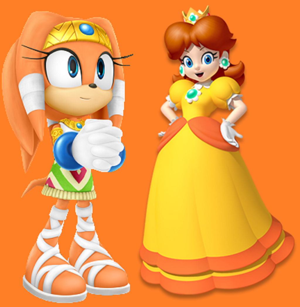 Princess Daisy And Tikals 15 Similarity By Earthbouds On DeviantArt