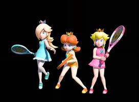 Mario tennis Princess 3 by earthbouds
