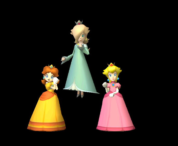 mario kart wii princess three by earthbouds on deviantart