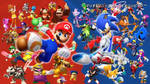 Mario and Sonic at the Rio Olympic Games
