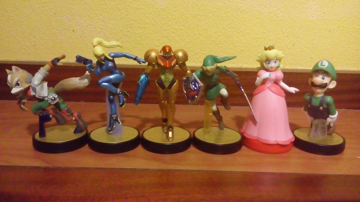 My amiibo set by earthbouds