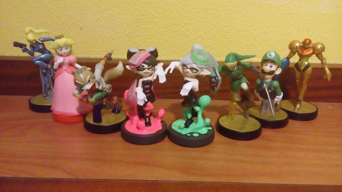 My amiibo set 2 by earthbouds