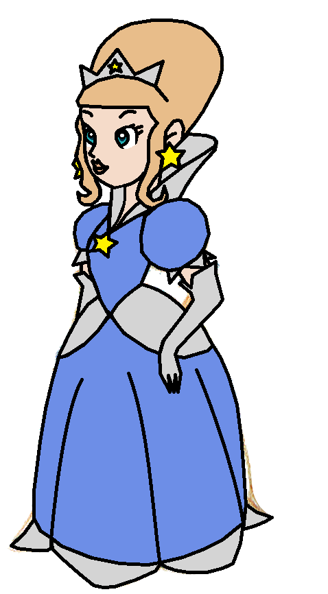 Rosalina concept art by earthbouds