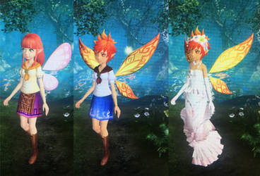 Fairy Malon/Cremia and Fairy Anju by earthbouds