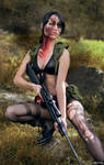 Quiet from Metal Gear Solid V.: The Phantom Pain.