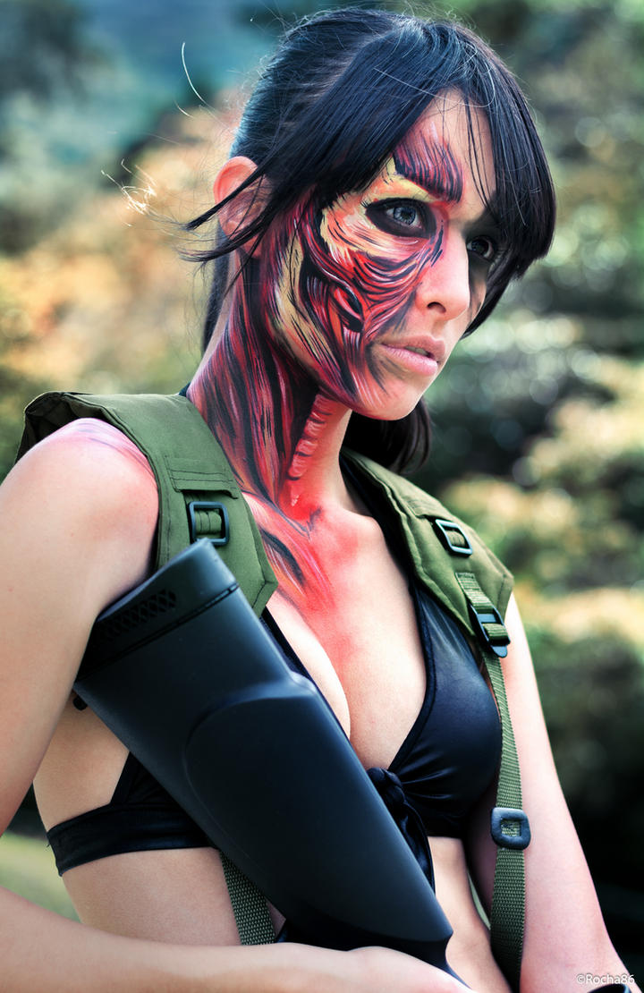 Quiet  from Metal Gear Solid V: The Phantom Pain. by rocha86