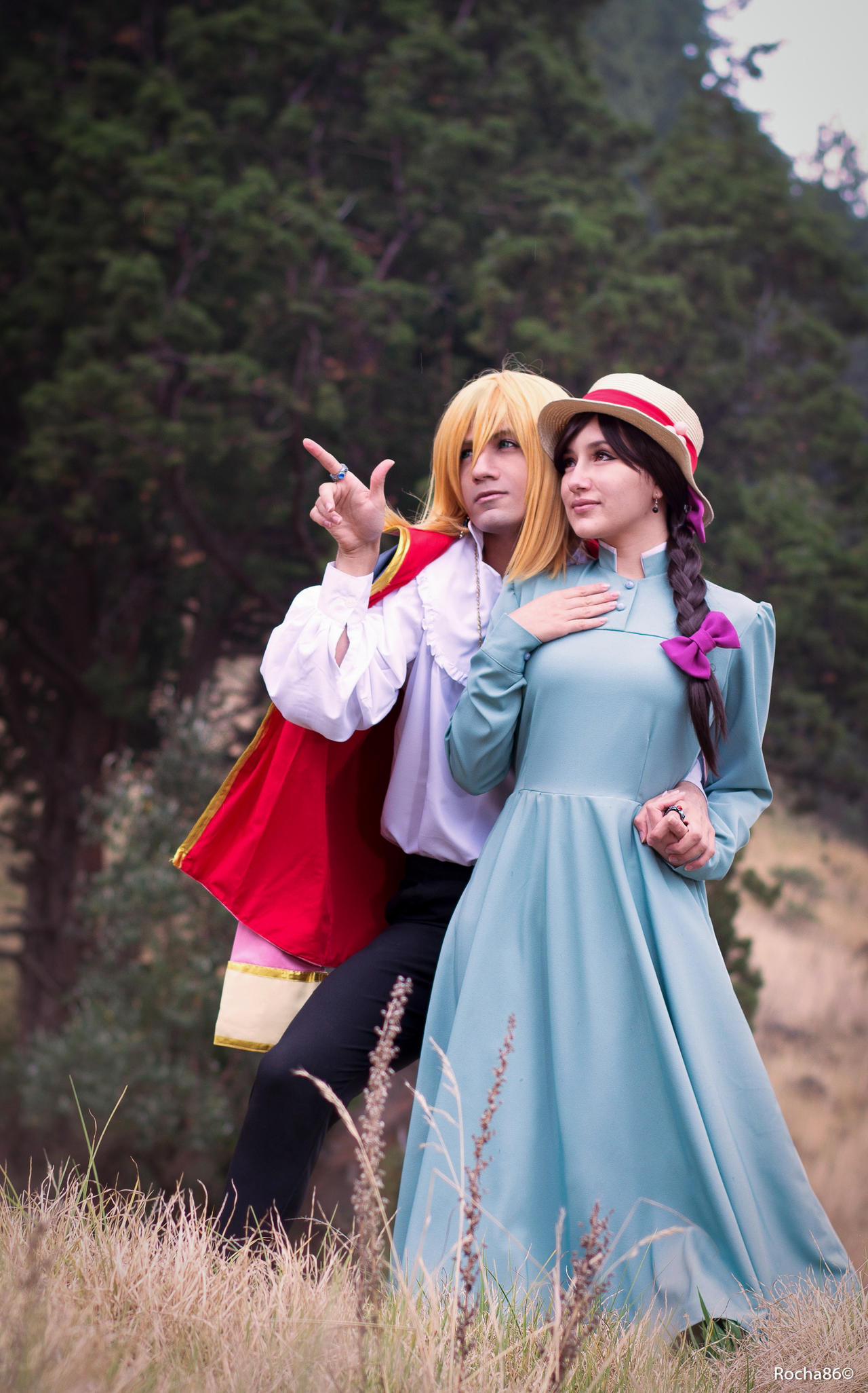 Sophie y Howl de Howl's Moving Castle by rocha86 on DeviantArt