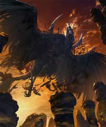 Winged demon alucard