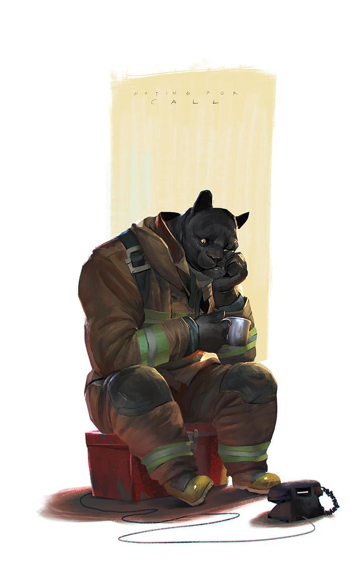 Pnther Fireman by crutz