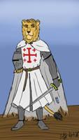 Crusading Lion
