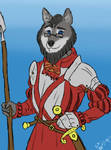 Wolf in Armor