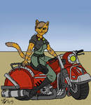 Diesel-Punk Tess (and 8 character facts)