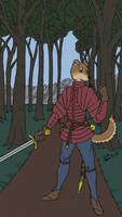 Forest Path by SouthpawLynx