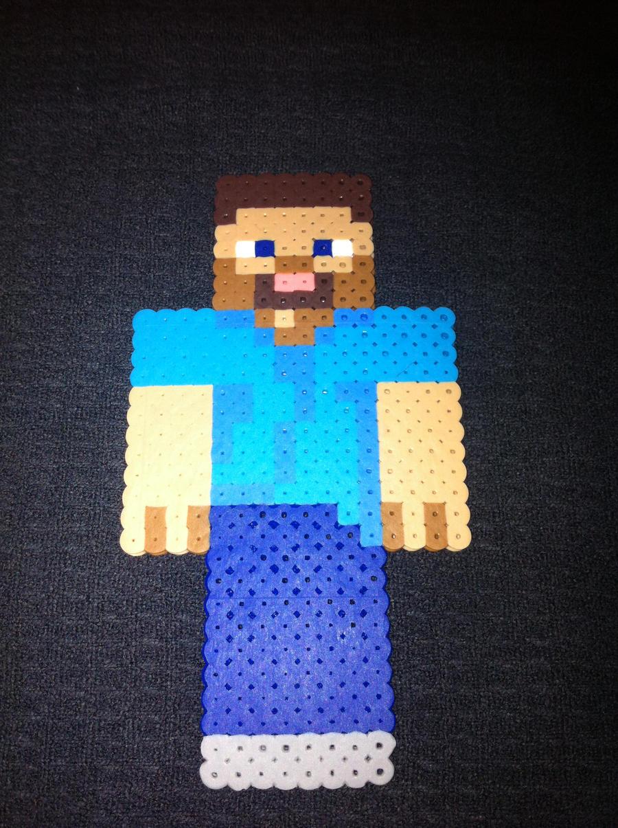 minecraft steve pixel art by toomanypixels on deviantart