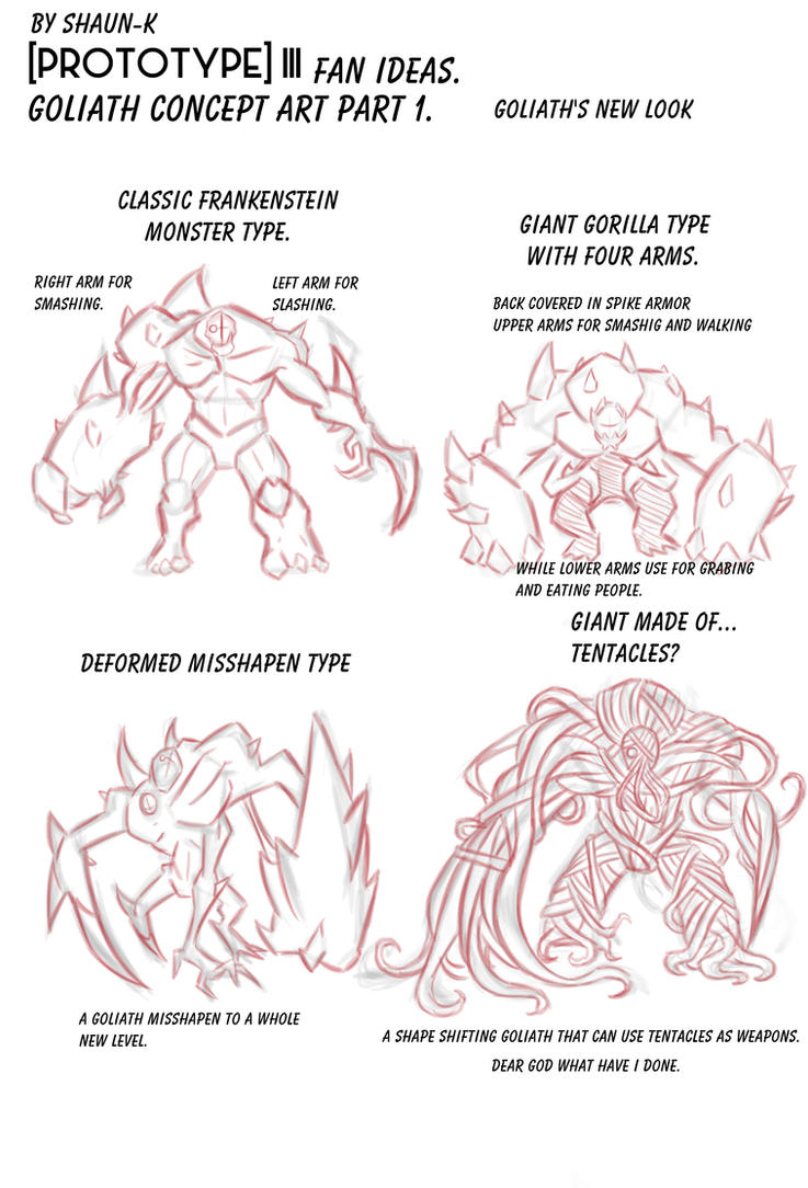 Goliath concept art pt.1 by Shaun-K