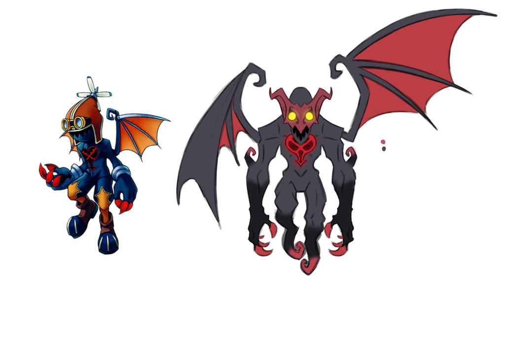KH Heartless Redesign the Air soldier by Shaun-K