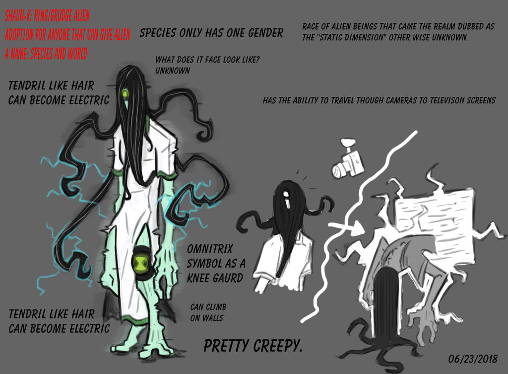 Ben10 Grudge Slash Ring Alien Oc By Shaun K On Deviantart
