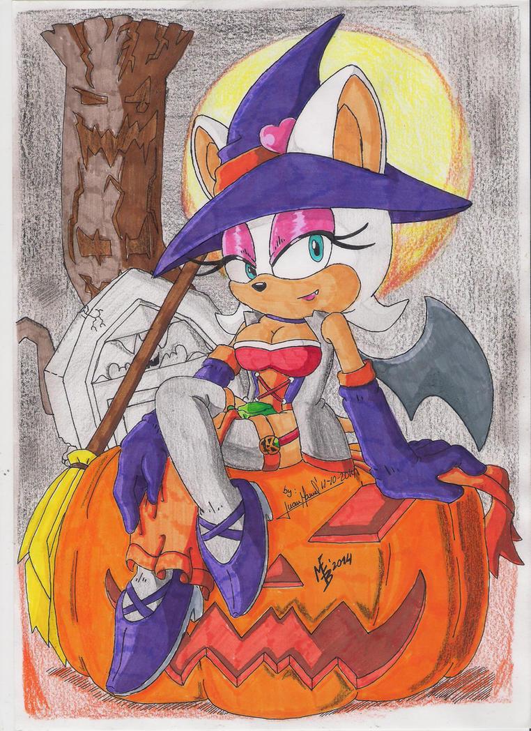 Rouge Halloween 2014 by Max-Echidna-Bat