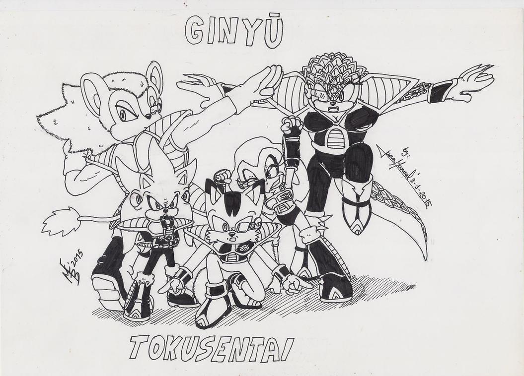Ginuy_Tokusentai by Max-Echidna-Bat