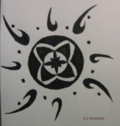 Tribal - Sun by Lunarqua