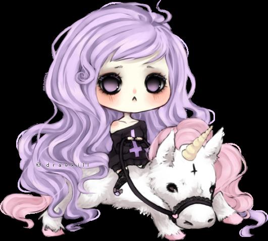 Pastel Goth by DrawKill