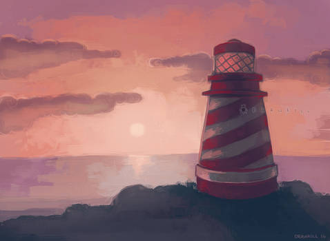 [COMM] Lighthouse by DrawKill