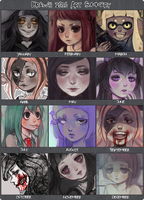 2016 Art Summary by DrawKill