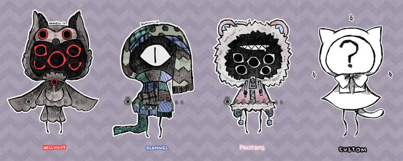 Eyeball Puppets 5 [CLOSED]