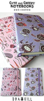 Cute and Creepy Notebook [PRE-ORDER]