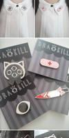 DrawKill Enamel Pins! by DrawKill
