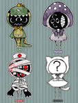 Eyeball Puppets Adopts [CLOSED] by DrawKill