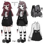Tsuki Character Ref
