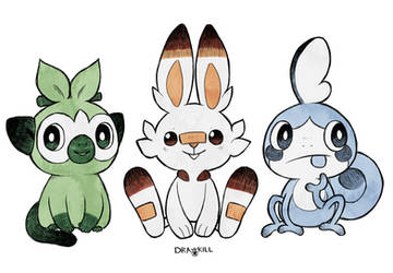 Pokefriends by DrawKill