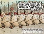 Spartan battle unit
