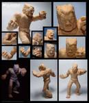 Wolverine WIP sculpt details by fan4battle
