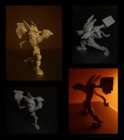 Dwarf mini sculpt by fan4battle