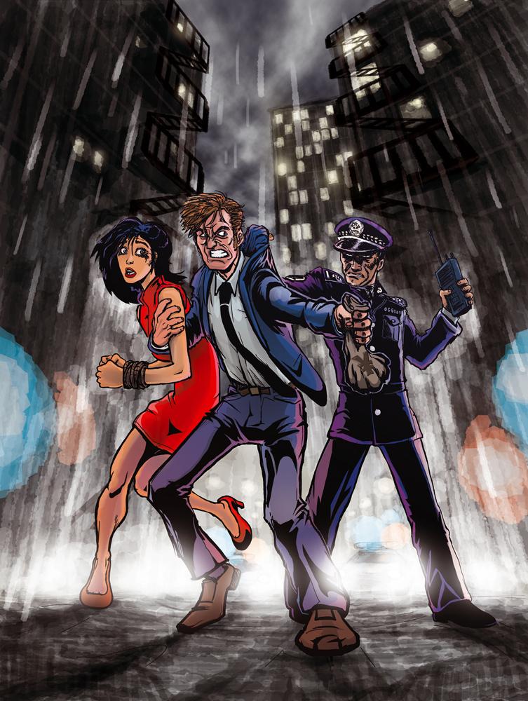 Crime cover by fan4battle
