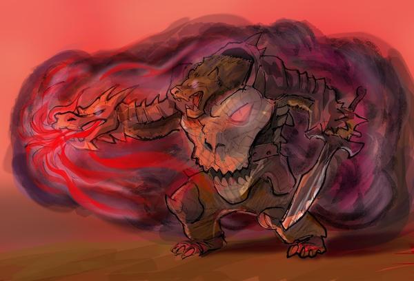 Dragobear by fan4battle