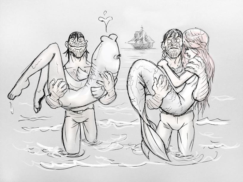 Mermaids by fan4battle
