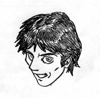 Manga Autoportrait by fan4battle